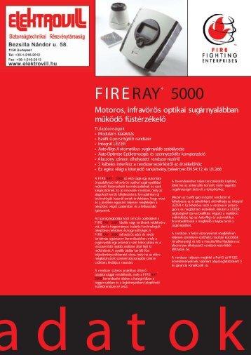 FIRERAY® 5000 - Elektrovill