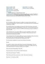 RESOLUCIÓ de 13 d'octubre de 2000, per la qual es fa públic el ...