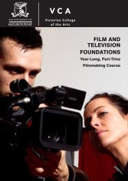 FILM AND TELEVISION FOUNDATIONS