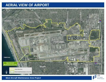 West Aircraft Maintenance Area Project Boards - LAX Master Plan