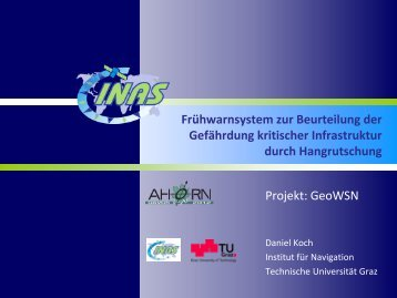 08-AHORN2012_Session3_Koch - Swiss Institute Of Navigation ...