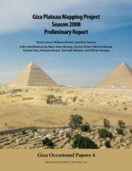 The Khentkawes Town (KKT) - Ancient Egypt Research Associates