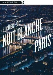 Nuit Blanche 2012 : le programme