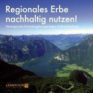Projekt 3: Hallstadt - Dachstein - Fachbereich Landschaftsplanung ...