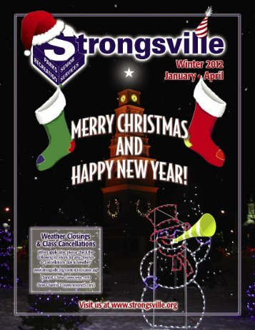 YOUTH PROGRAMS cont. - The City of Strongsville