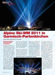 Alpine Ski-WM 2011 in Garmisch-Partenkirchen