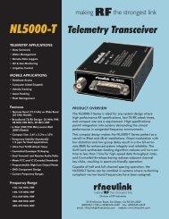 NL5000-T Info Sheet - RF Neulink