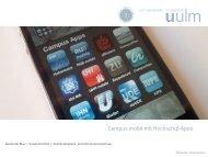 Campus mobil mit Hochschul-Apps - Hochschulverwaltung