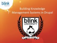 Building Knowledge Management Systems in Drupal - DrupalCon ...