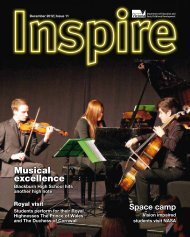 Inspire Issue 11 December 2012 - Department of Education and ...