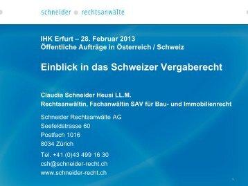 Votrag in PDF-Format - Schneider Rechtsanwälte