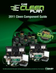 2011 Cleen Component Guide - BWD