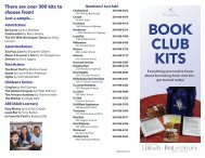 BOOK CLUB KITS - The application you requested cannot be located.