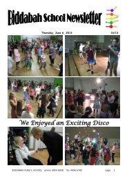 Newsletter Term 2 Week 6 - Biddabah Public School