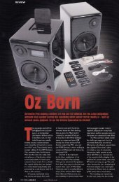 Read the HiFi World July 2010 review here - Red Box Audio Visual