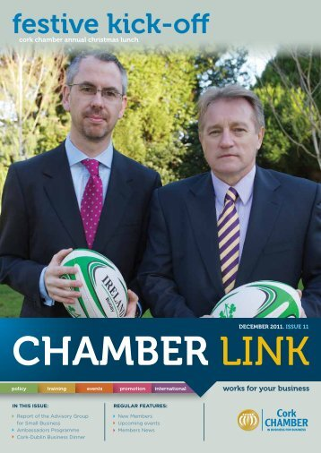 festive kick-off - Cork Chamber of Commerce