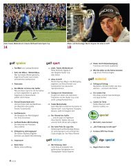 golf material special dgv special golf spielen golf sport golf lektion