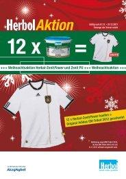 +++ Weihnachtsaktion Herbol-ZenitPower und Zenit PU +++ ...