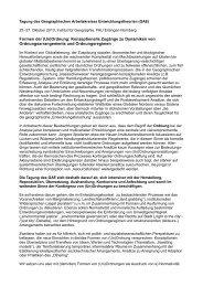Formen der (Un)Ordnung: Konzeptionelle Zugänge zu Dynamiken ...
