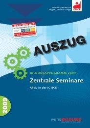 Zentrale Seminare - Ortsgruppe Gladbeck-Mitte