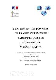 traitement de donnees de trafic et temps de parcours sur les ...