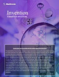 Invention Submission Brochure - Medtronic