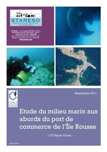 Etude du milieu marin