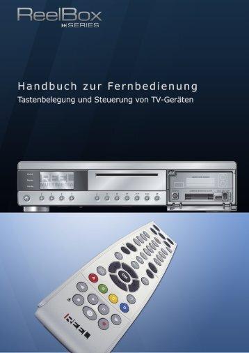 ReelBox Series - Kurzanleitung Fernbedienung - Reel Multimedia