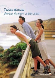 Annual Report 2010-2011 - Tourism Australia