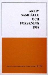 arkiv samhälle och forskning 1988 - Visa filer