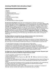 Anleitung PULSAR A-Serie Brushless Regler - Pichler