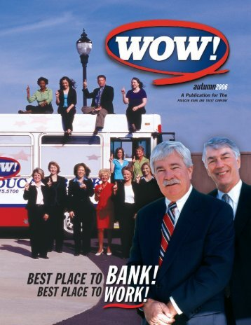 PB WOW fall06 DOC - Paducah Bank