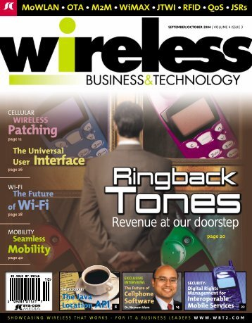 of Wi-Fi - sys-con.com's archive of magazines - SYS-CON Media
