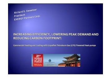 (LPG) Powered Heat Pumps - Propane Education & Research Council