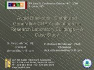 Avoid Blackouts: Distributed Generation CHP Applications - Labs21 ...