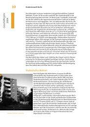 Geschäftsjahr 2004 - Studentenwerk Berlin