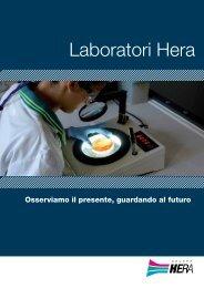 La brochure dei Laboratori - Il Gruppo Hera