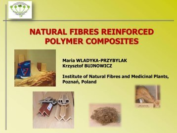 Natural Fibers Reinforced Polymers - Project T-Pot