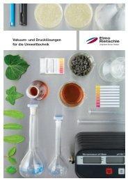 Vakuum- und Drucklösungen für die Umwelttechnik - Elmo Rietschle