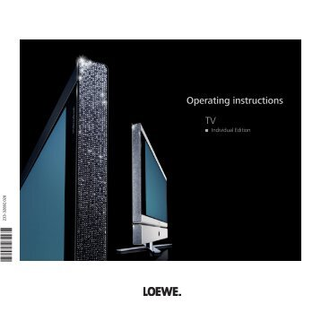 TV Operating instructions - Loewe