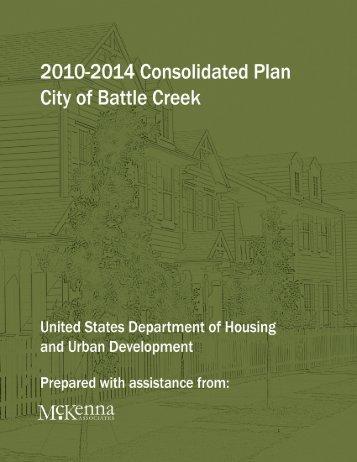 Strategic Plan - City of Battle Creek, Michigan
