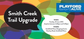 Smith Creek Trail Upgrade - City of Playford - SA.Gov.au