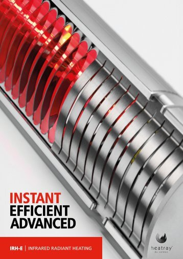 INSTANT EFFICIENT ADVANCED - Heatray Patio Heaters