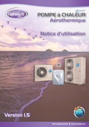 Notice utilisation Ophely-S v1.5_25056.indd - Comptoir-chauffage.com