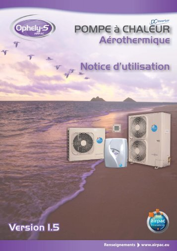 Notice utilisation Ophely-S v1.5_25056.indd - Comptoir-chauffage.com