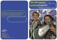 One Movement working together - The Scout Association