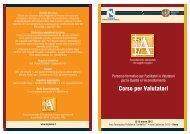 Corso per Valutatori - Agenzia di Sanità Pubblica della Regione Lazio