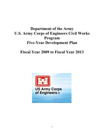 Department of the Army - U.S. Army Corps of Engineers