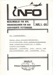 e - Norsk Flytekniker Organisasjon