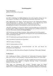 Kurzbio PDF - TCM Beratung Wien